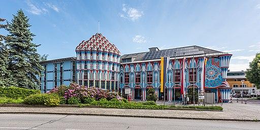 Sankt Veit an der Glan Prof.-Ernst-Fuchs-Platz 1 Kunsthotel Fuchspalast 18052018 3244