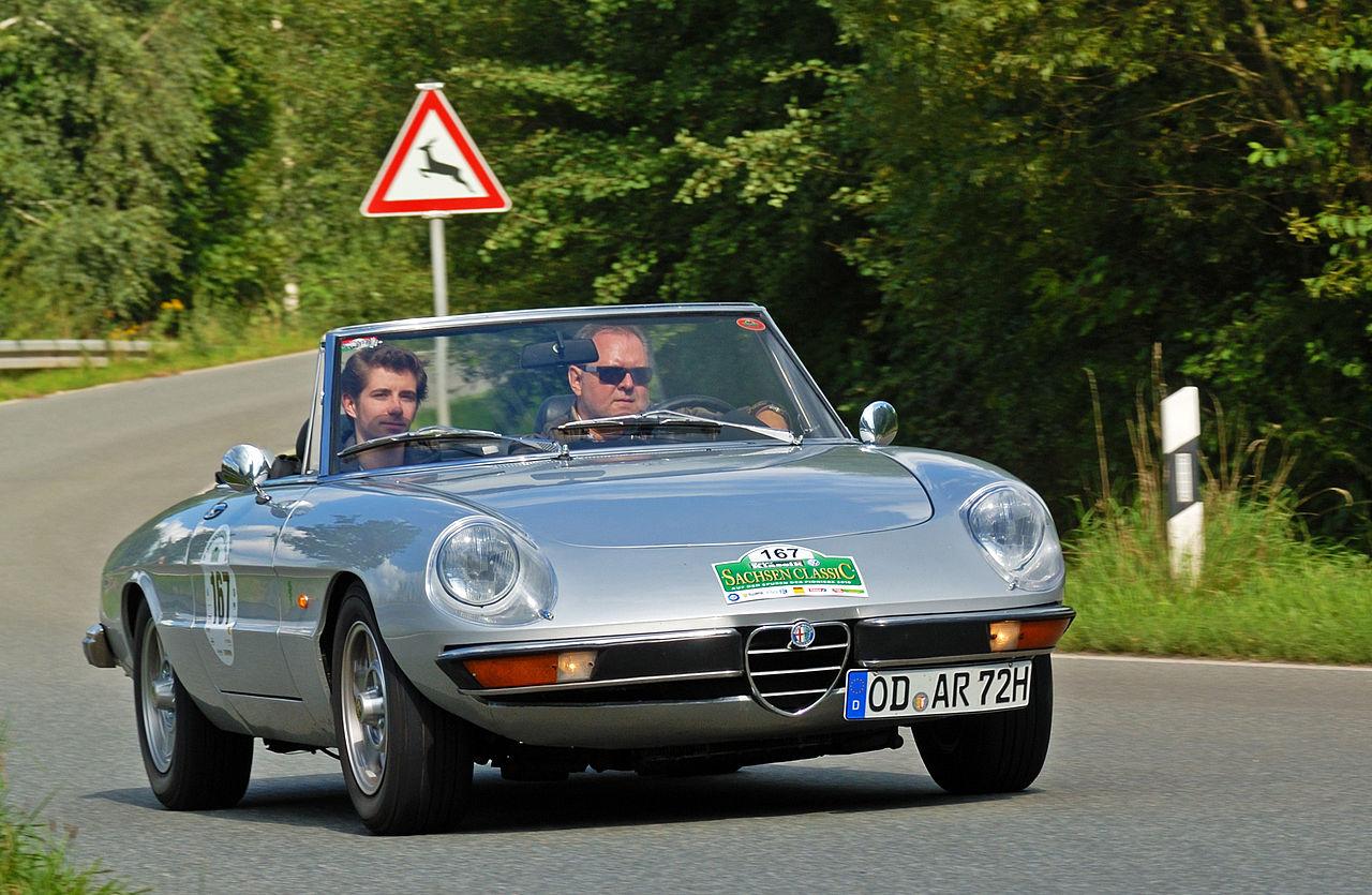 FileSaxony Classic Rallye 2010  Alfa Romeo Spider 1973 akajpg