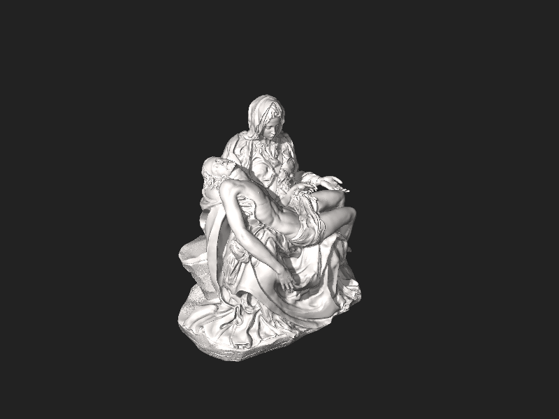קובץ:Scan the World - Pietà (Michelangelo).stl