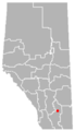 Scandia, Alberta Location.png