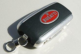 Smart key - Bugatti keyless entry remote