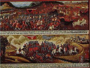 Kronberg im Taunus - Battle of Eschborn, 1389 (Historical museum, Frankfurt).