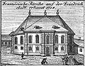 Schleuen - Französische Kirche Friedrichstadt 1757.jpg