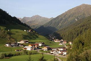 Schmirn Place in Tyrol, Austria