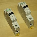 Schneider Electric circuit breakers Acti9 series 01.jpg