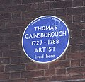Schomberg House Gainsborough Blue Plaque (5126319115).jpg