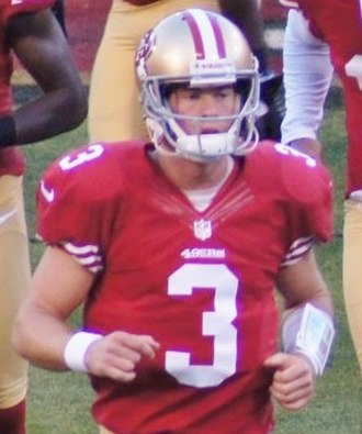 Scott Tolzien - Tolzien with the 49ers in 2012