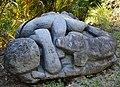 Sculpture - esclavage - homme - collier de servitude - 002.jpg