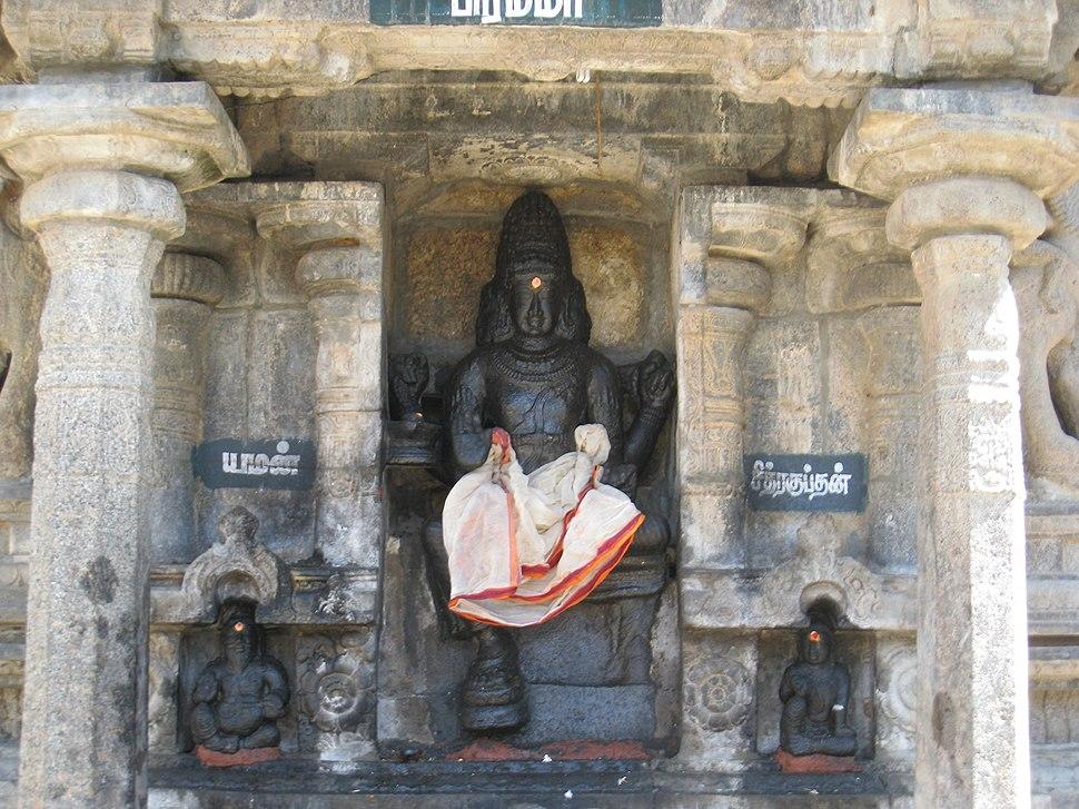 Sculpture of Brahma, Tamil Nadu