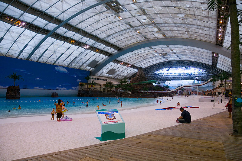The Largest Indoor Pool in The