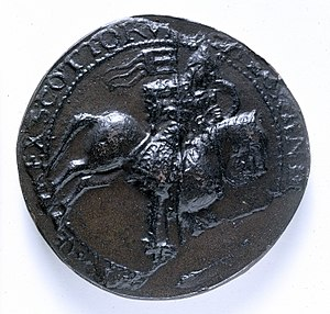 Fergus of Galloway - Seal of Alexander I, King of Scotland, apparent brother-in-law of Fergus.
