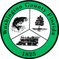 Siegel von Washington County (Florida)