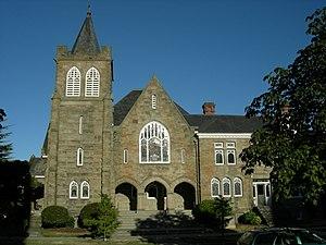 First Methodist Protestant Church of Seattle - Image: Seattle 1st Methodist Catalysis 01