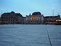 Sechseläutenplatz Zürich - Abendstimmung - 2014-01-25 - Bild 1.JPG