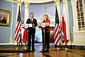 Secretary Clinton and Polish Foreign Affairs Minister Sikorski Hold a Press Conference (5496483171).jpg