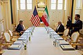 Secretary Kerry and Iranian Foreign Minister Zarif Share a Laugh Before Their Meeting in Vienna (27005988111).jpg