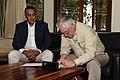 Secretary Tillerson Signs the Guestbook at the Kenya Wildlife Service in Nairobi (26878113238).jpg