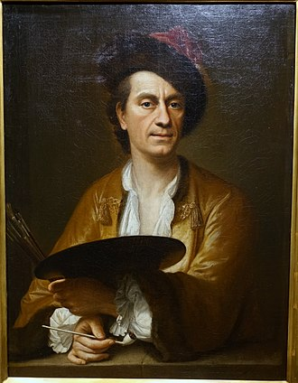 Johann Christian Fiedler - Self-portrait c. 1783