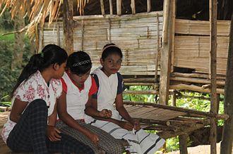 Semai people - Semai teenagers in Tapah, Perak, Malaysia.