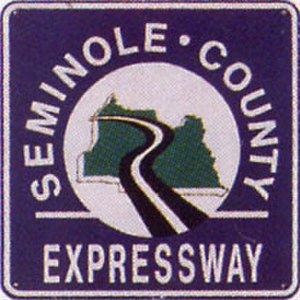 Florida State Road 417 - The original logo for the Seminole County Expressway