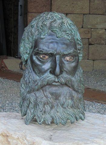 Фракийский царь Севт III. Реплика древнего бронзового изображения