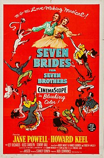 <i>Seven Brides for Seven Brothers</i> 1954 film by Stanley Donen