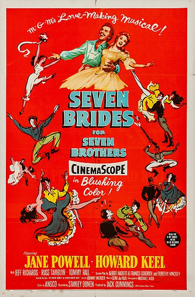 Picture of a movie: Seven Brides For Seven Brothers