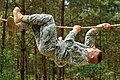 Sgt. Timothy Collins on the obstacle course (7682610384).jpg