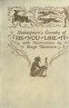 Shakespeare's comedy As you like it (IA spearescomeshake00shakrich).pdf