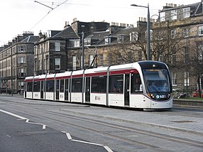 CAF Urbos 3 von Edinburgh Trams