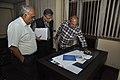 Shantanu Ganguly Along With Shrikant Pathak And Manash Bagchi Visiting NDL - NCSM - Kolkata 2017-12-13 6296.JPG