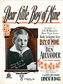 Sheet music cover - DEAR LITTLE BOY OF MINE (1918).jpg