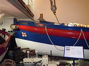 RNLB J C Madge (ON 536) - Image: Sheringham Lifeboat J C Madge ON536 Sheringham Museum 29 03 2010 (2)