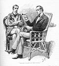Sherlock Holmes & Watson - The Greek Interpreter - Sidney Paget