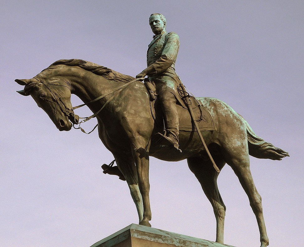 Sherman monument in DC crop