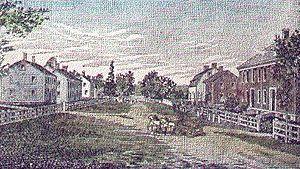 Shirley, Massachusetts - Shirley Shaker Village in 1884