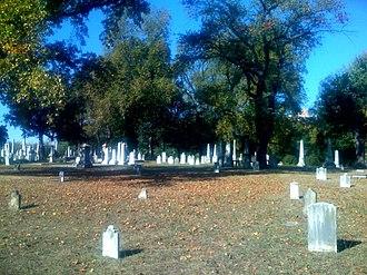 Shockoe Hill Cemetery - Image: Shockoe cemetery