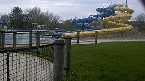 Centennial Park (Champaign, Illinois) - Image: Sholem Water Slides