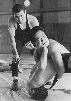 Shozo Sasahara - Shozo Sasahara (left) and Osamu Watanabe (top-right)