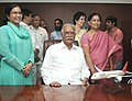 Shri Ashok Gajapathi Raju Pusapati taking charge as the Union Minister for Civil Aviation, in New Delhi on May 29, 2014.jpg