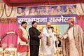 Shri Satpal Maharaj With Hon'ble Guests at Sadbhawna Sammelan.jpg