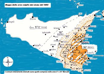 The earthquake in Sicily