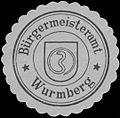 Siegelmarke Bürgermeisteramt Wurmberg W0329172.jpg