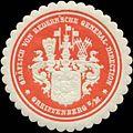 Siegelmarke Gräflich von Redernsche General-Direction Greiffenberg W0342532.jpg