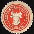 Siegelmarke Grossherzoglich Mecklenburgische Amtsanwalt - Sternberg W0232789.jpg