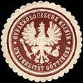 Siegelmarke Gynaekologische Klinik - Universität Göttingen W0220456.jpg