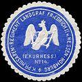 Siegelmarke K.Pr. Husaren-Regiment Landgraf Friedrich II. v. Hessen-Homburg (2. Kurhessisches) No. 14 W0283643.jpg