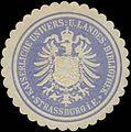 Siegelmarke K. Univers. und Landes-Bibliothek Strassburg W0350478.jpg