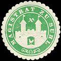 Siegelmarke Magistrat zu Suhl W0226855.jpg