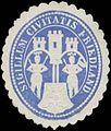 Siegelmarke Sigillum Civitatis Friedland W0369139.jpg
